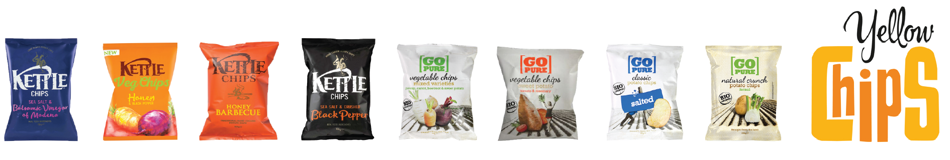 Kettle Chips Go Pure Chips product impression